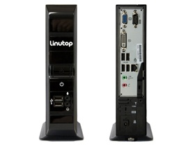 mini PC fanless Linutop 3