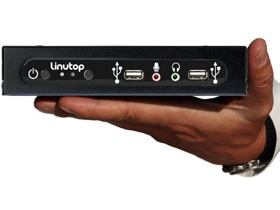 mini PC fanless Linutop 4