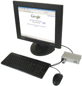 mini PC internet kiosk