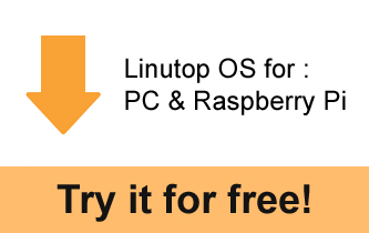 Linutop OS for PC and Raspberry Pi