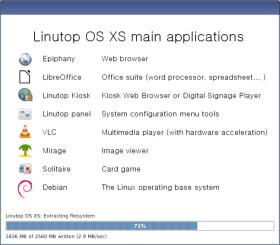 Linutop NOOBS applications
