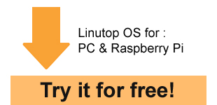 Software Linutop for Internet Kiosk and digital signage